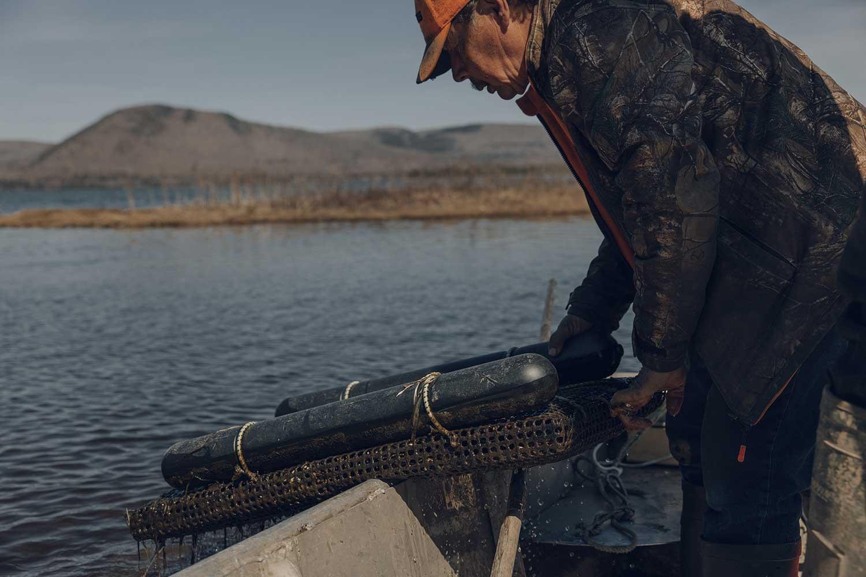 Joe Googoo, Mi'kmaw oyster farmer